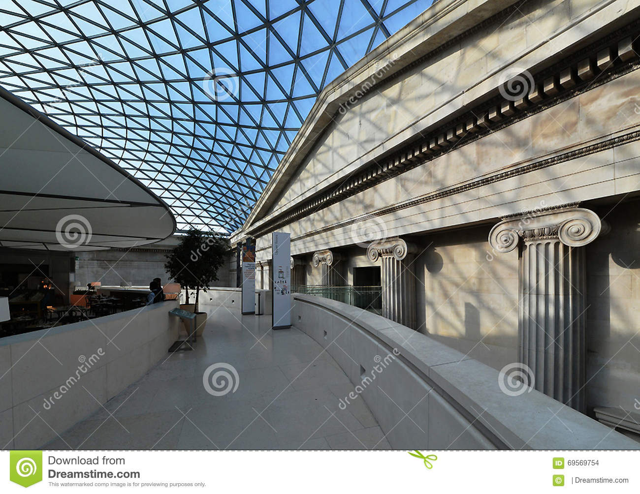 Delightful British Museum, Old And New