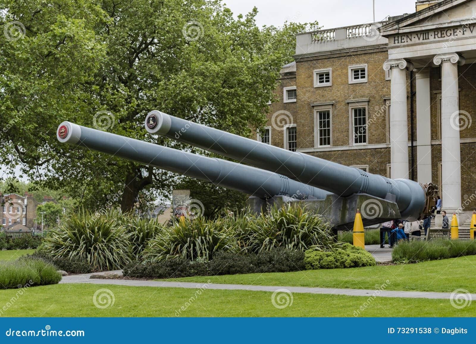 Naval Guns Stock Photography - Image: 34866592