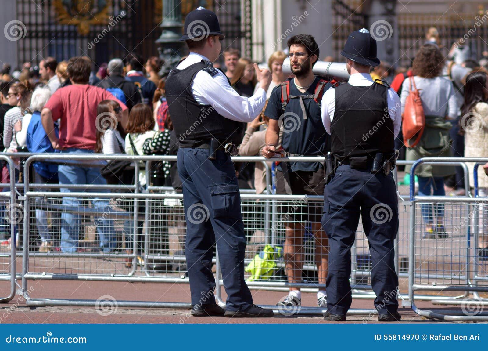 British police man