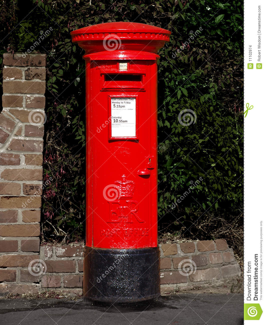 Old Fashioned Post Office Box