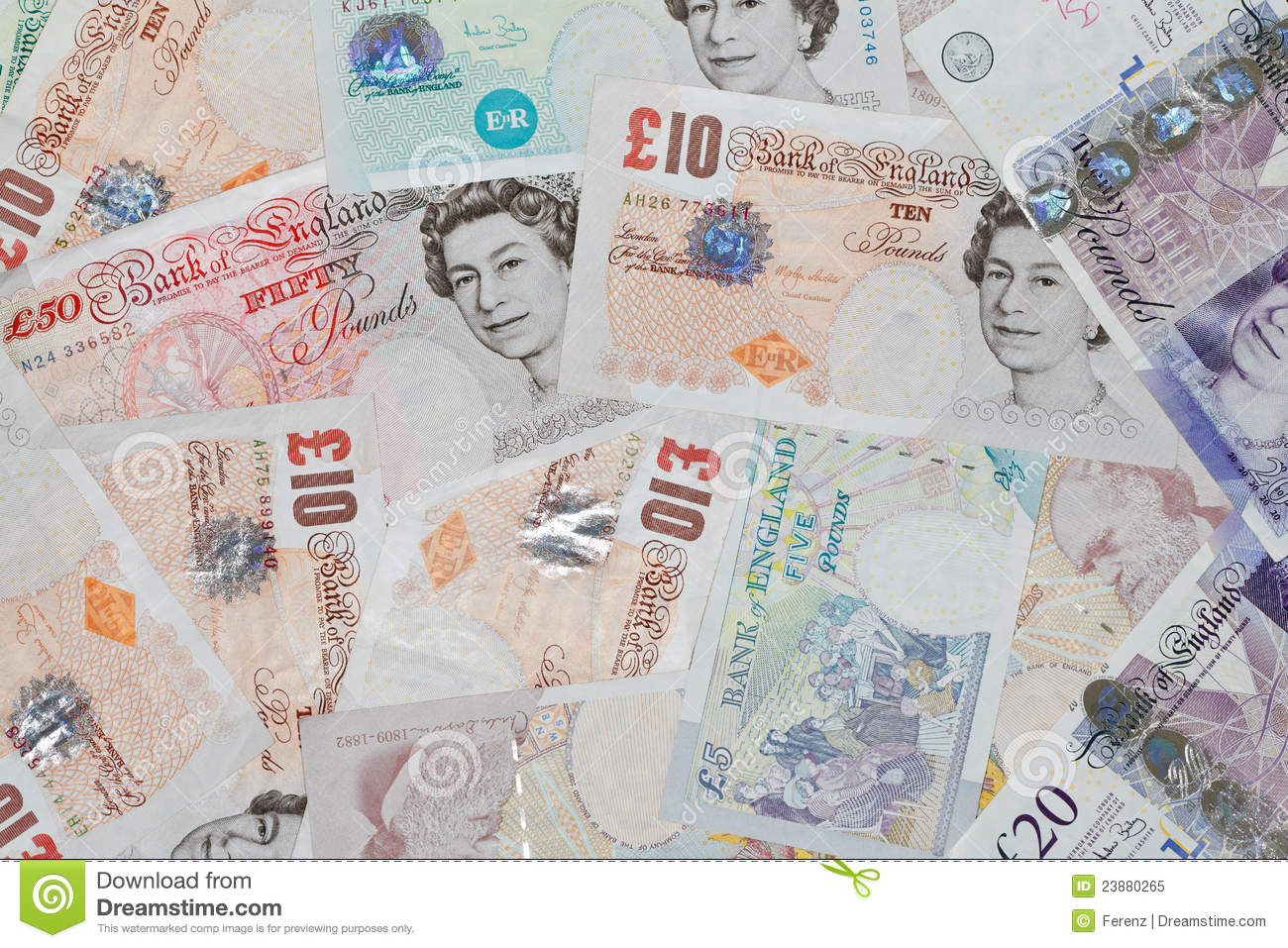 British Pounds Editorial Image - Image: 23880265