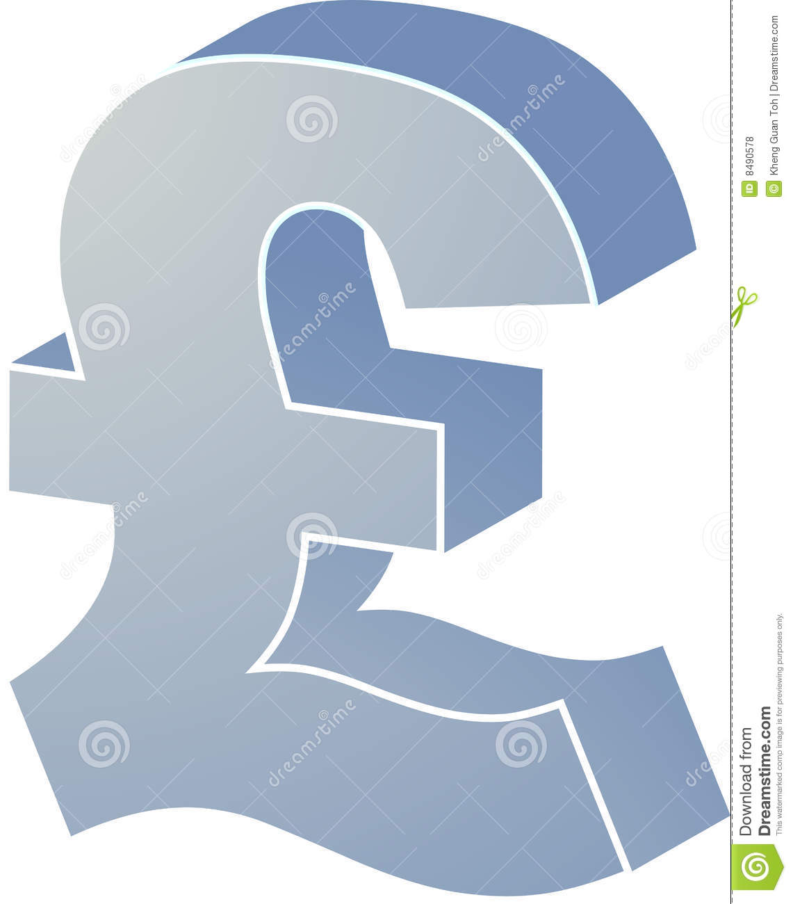 British Pounds Stock Illustration Illustration Of Finance 8490578
