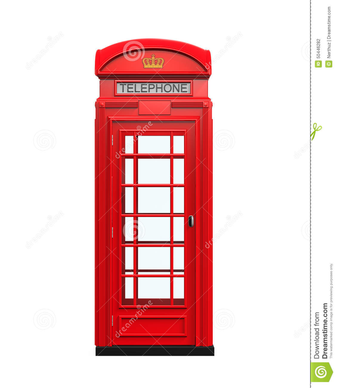 how to open telephone box on house