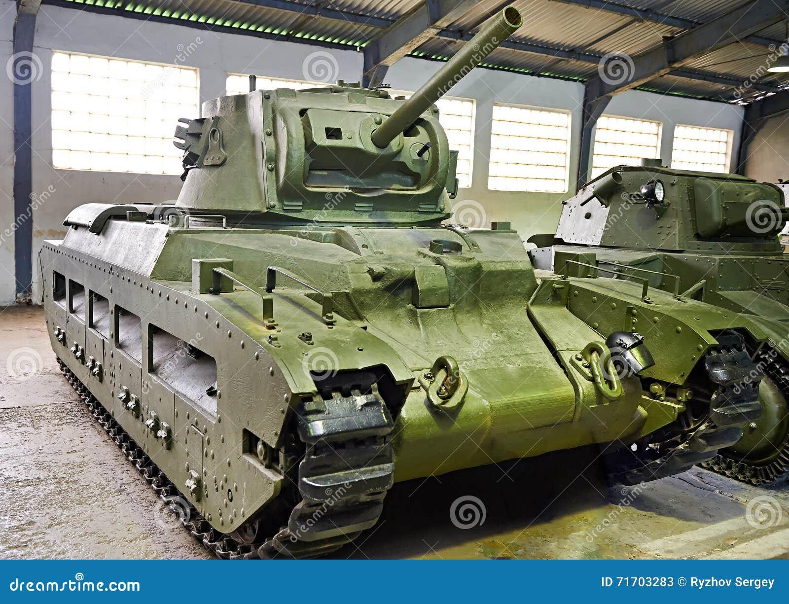 British Tank Infantry Mk Ii Matilda Iii Cs Stock Image