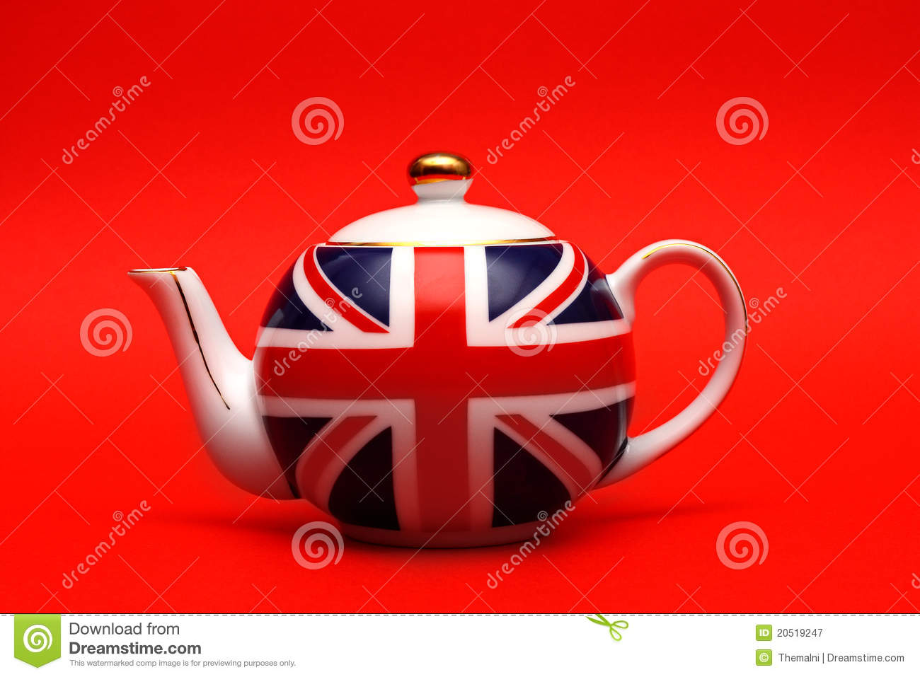 British Teapot Royalty Free Stock Photography Image