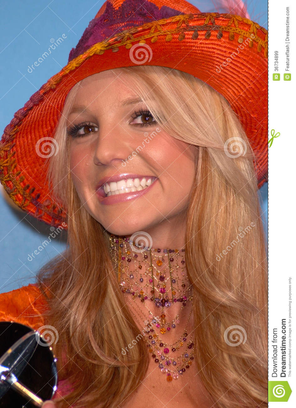 Britney Spears,Pop Stars editorial stock image. Image of ...
