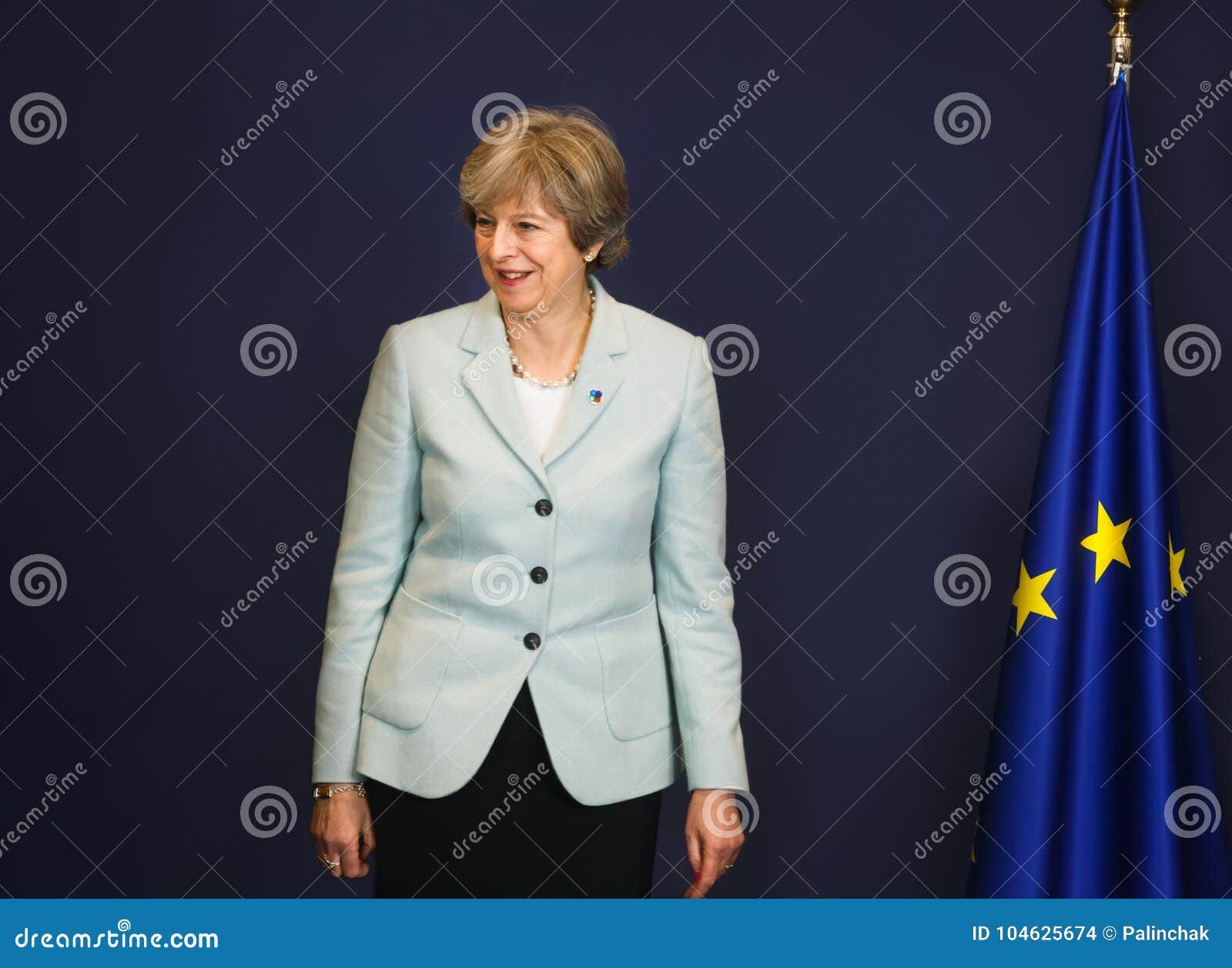 Download Britse Eerste Minister Teresa May Redactionele Stock Afbeelding - Afbeelding bestaande uit theresa, tory: 104625674