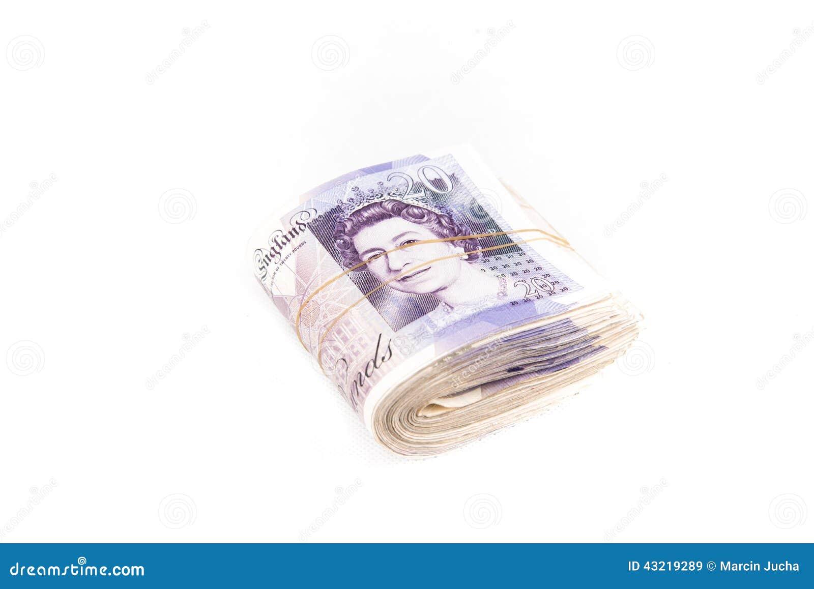 Britse pondbankbiljetten