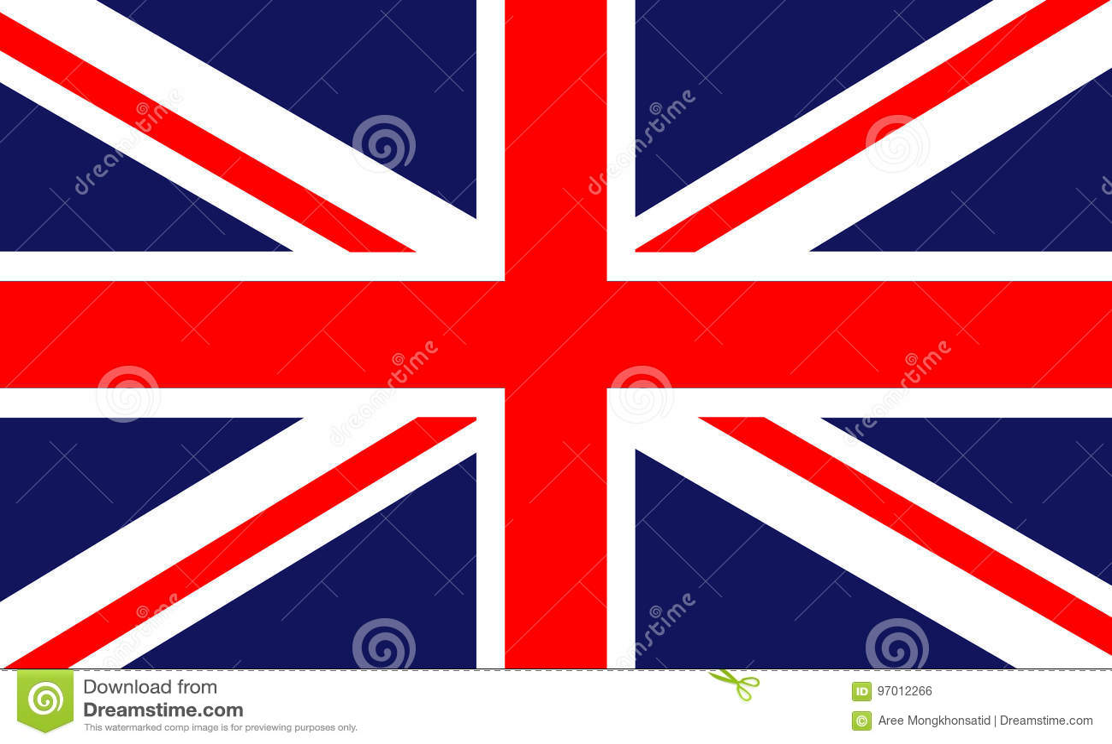 Brittisk flagga