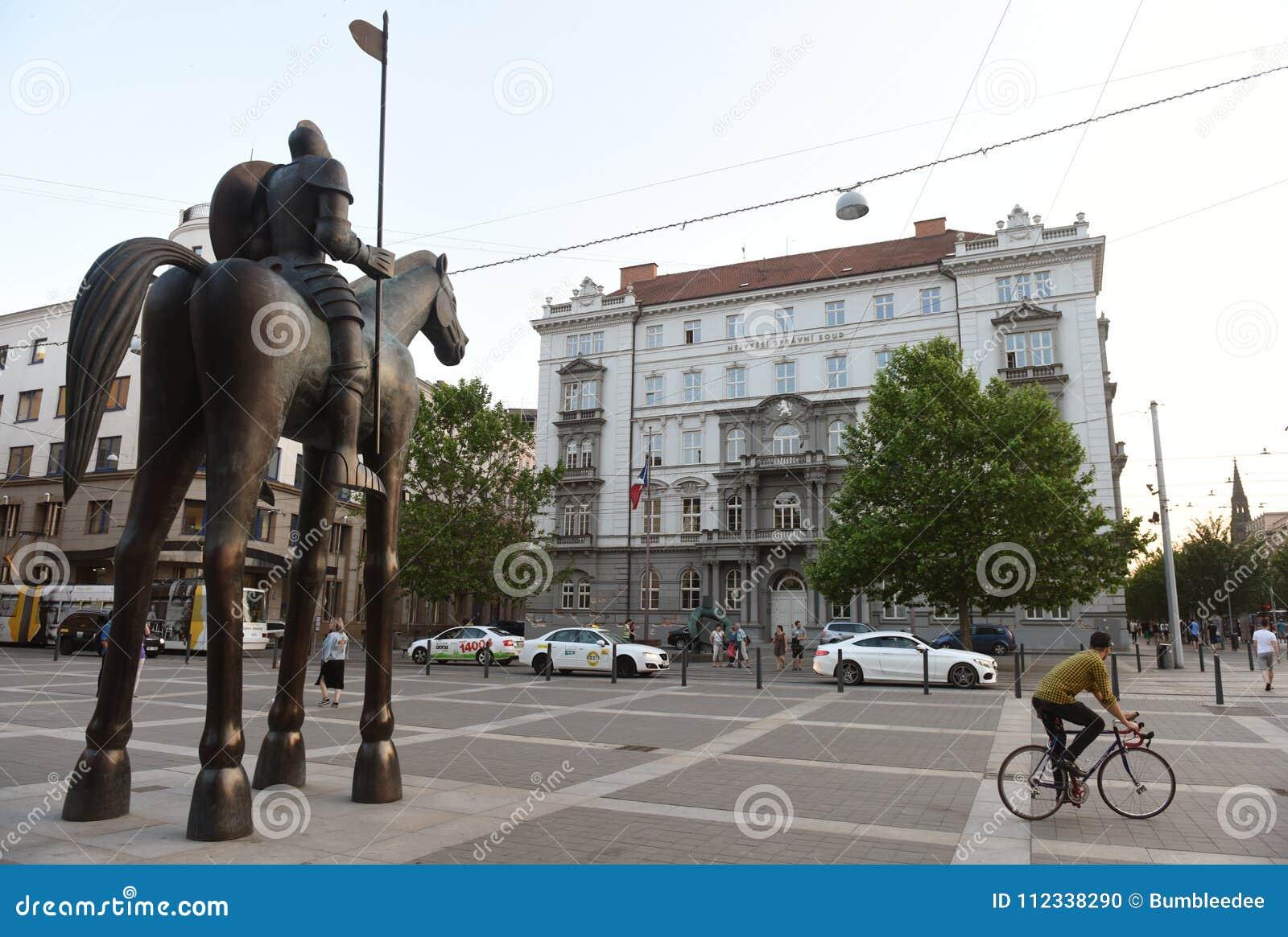 Brno, Tsjechische Republiek - 31 Mei, 2017: Opperste Administratieve Cou