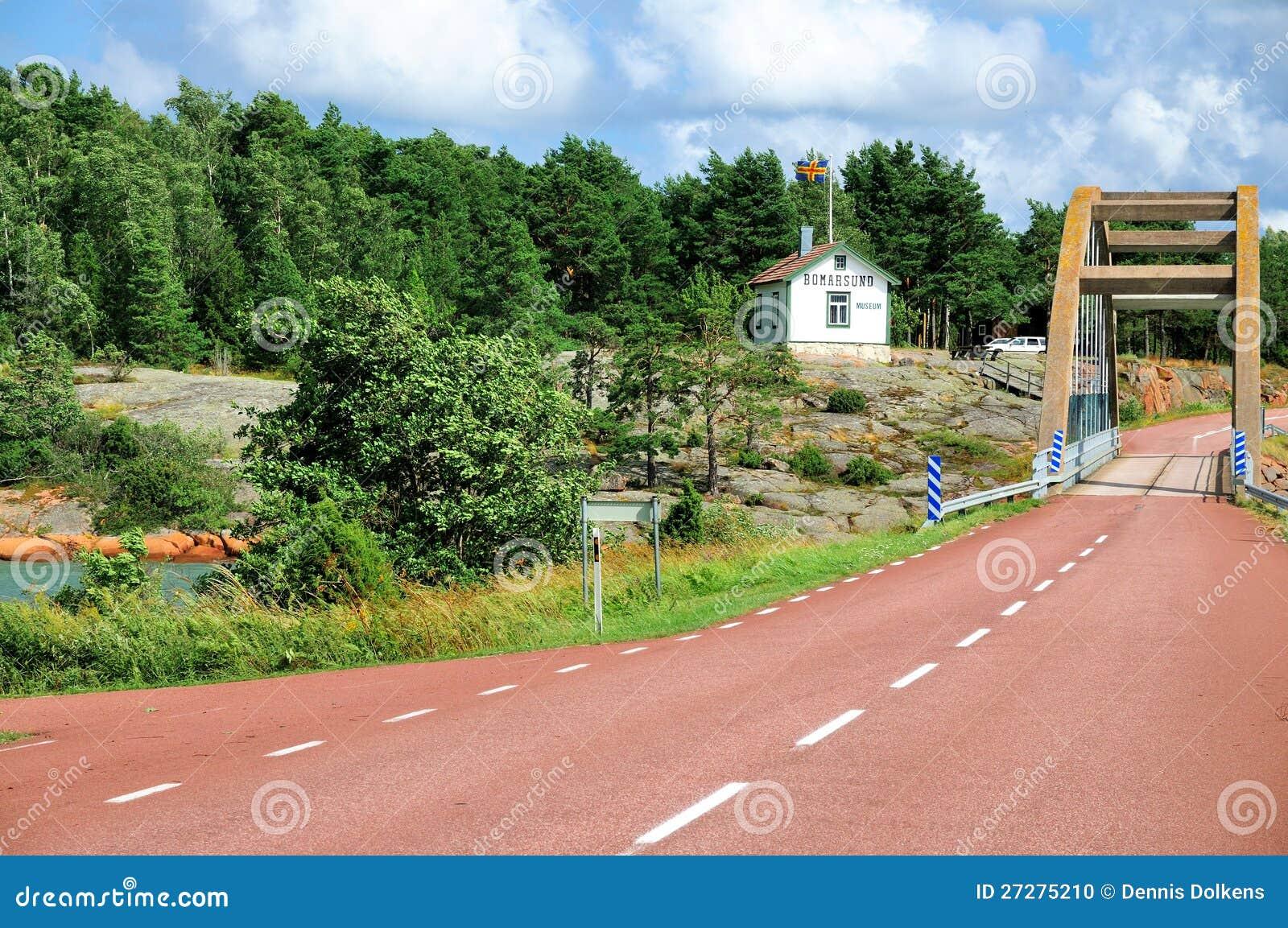 Bro av Bomarsund, Aland, Finland