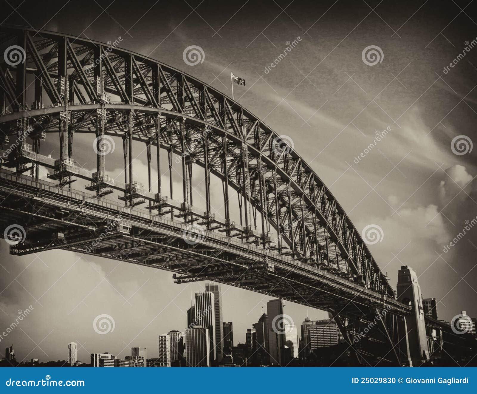 Bro av den Sydney hamnen, Australien