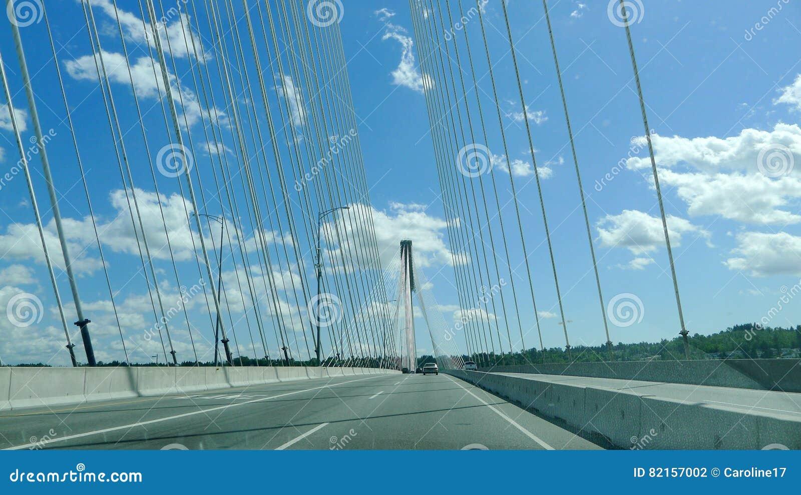 Bro för portMann upphängning