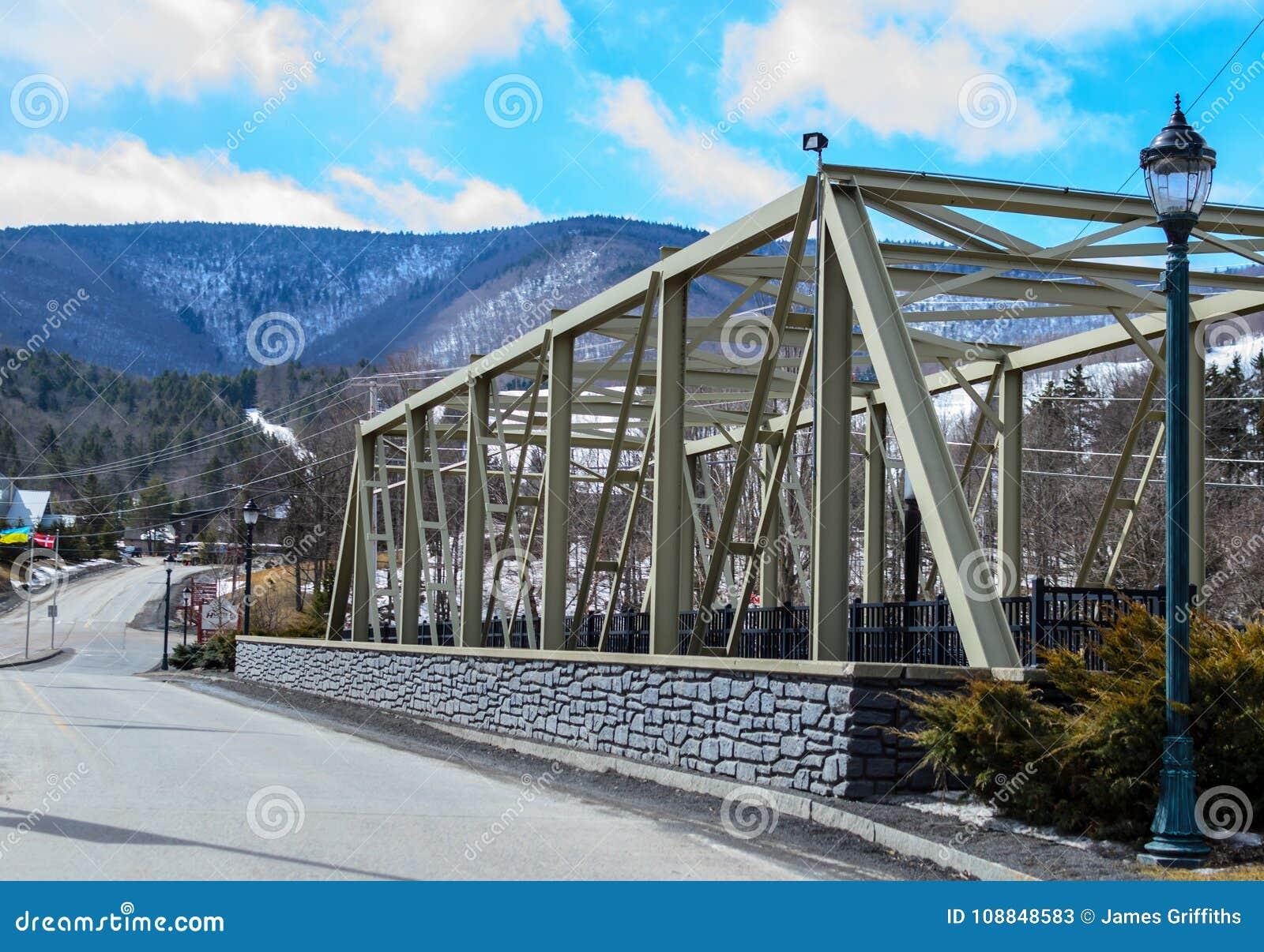 Bro i de Catskill bergen