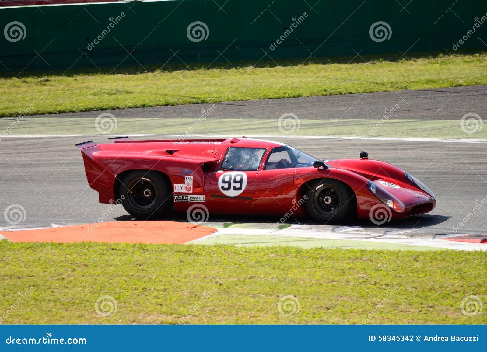 Circuito Monza : Autodromo nazionale di monza tribuna prima variante esterna