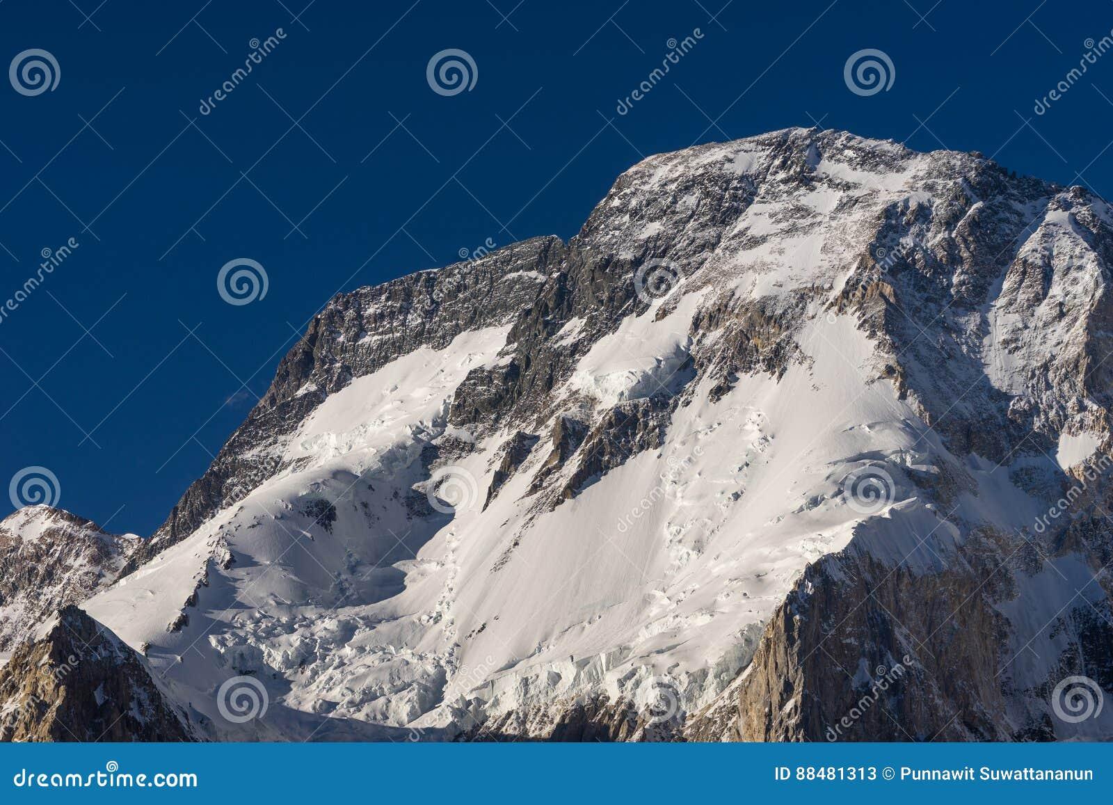 Broadpeak in Karakorum-Gebirgszug, K2 Wanderung, Gilgit, Pakistan