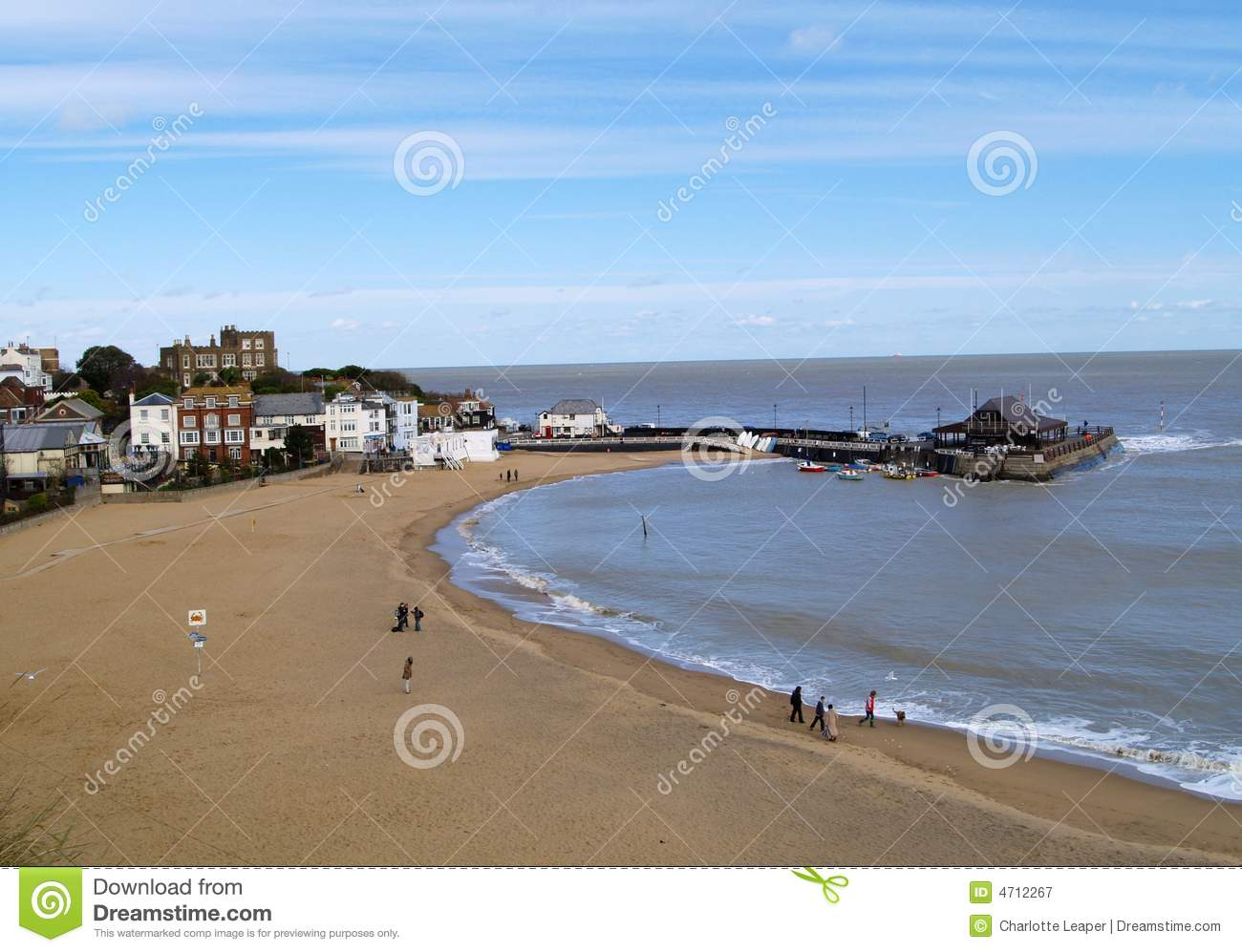 Broadstairs English Beach Royalty Free Stock Photography
