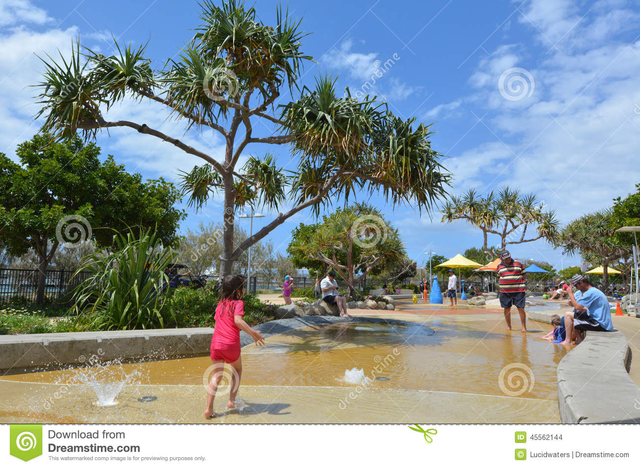Broadwater Parklands Gold Coast Australia Editorial