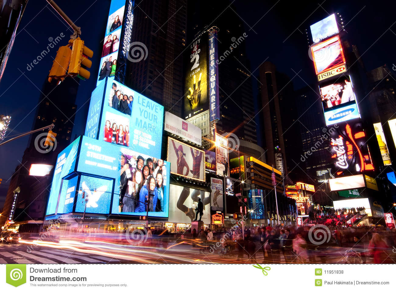 Broadway ajusta ocasionalmente por Night