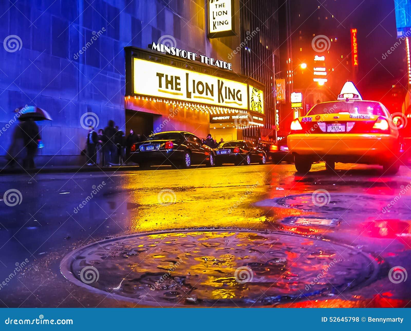 new york manhole editorial stock photo