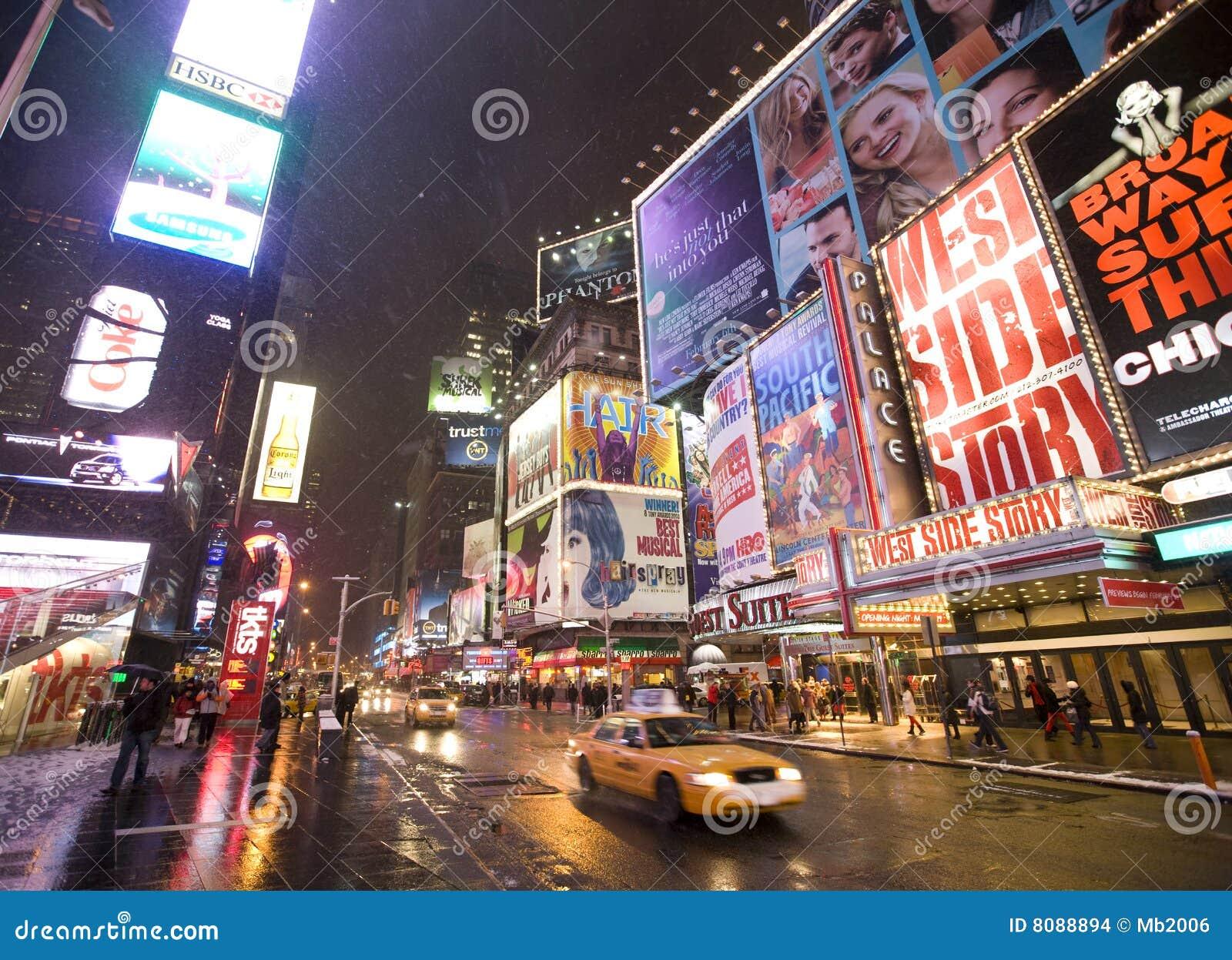 Broadway miasto nowy York