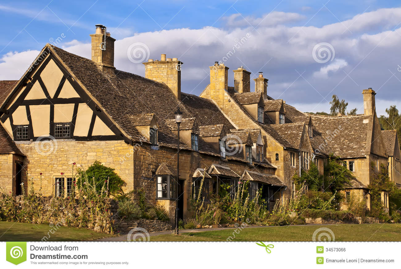 Broadway United Kingdom  City new picture : Broadway.Traditional Cotswold cottages in England, United Kingdom UK ...