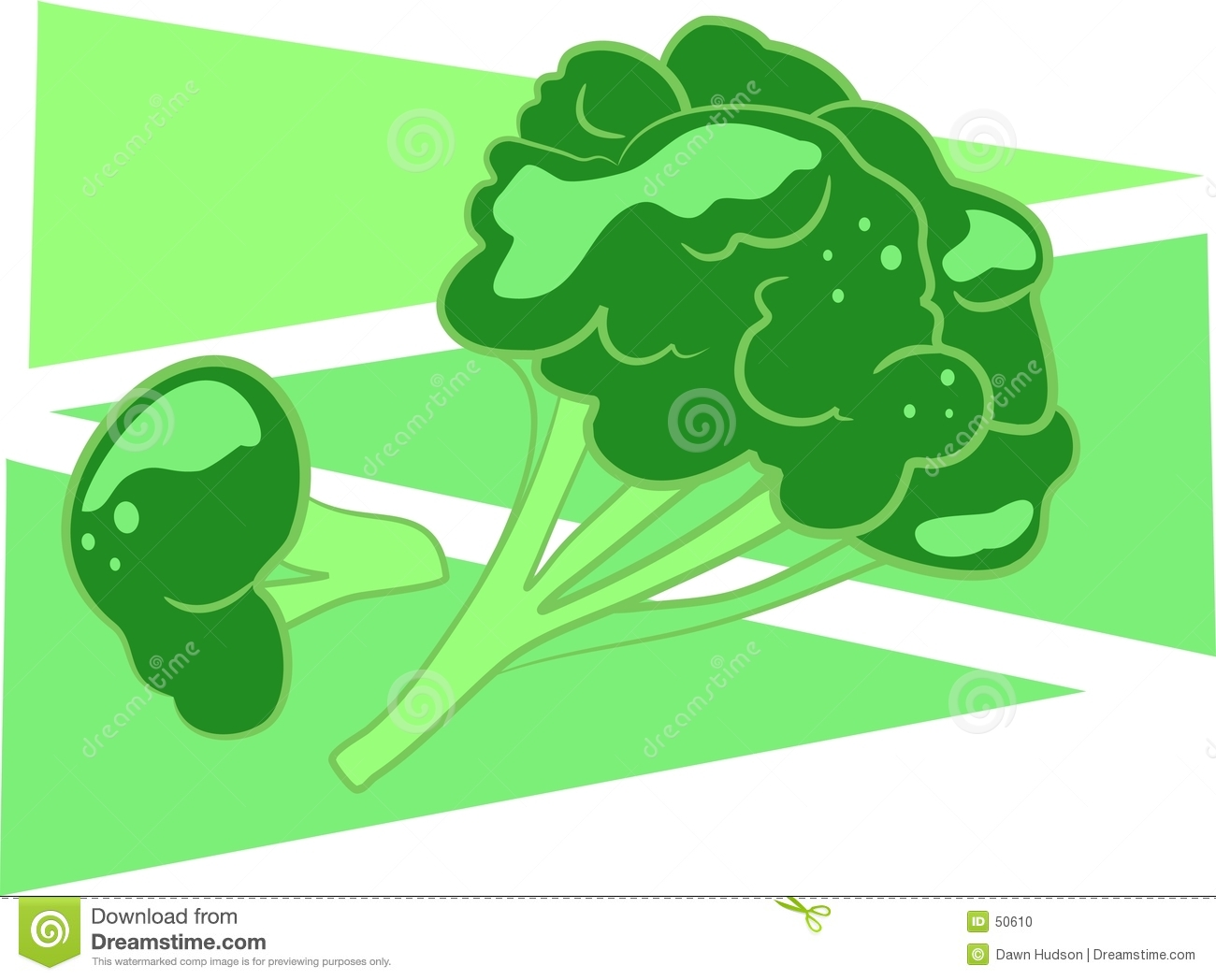 Download Broccoli illustration de vecteur. Illustration du casse - 50610