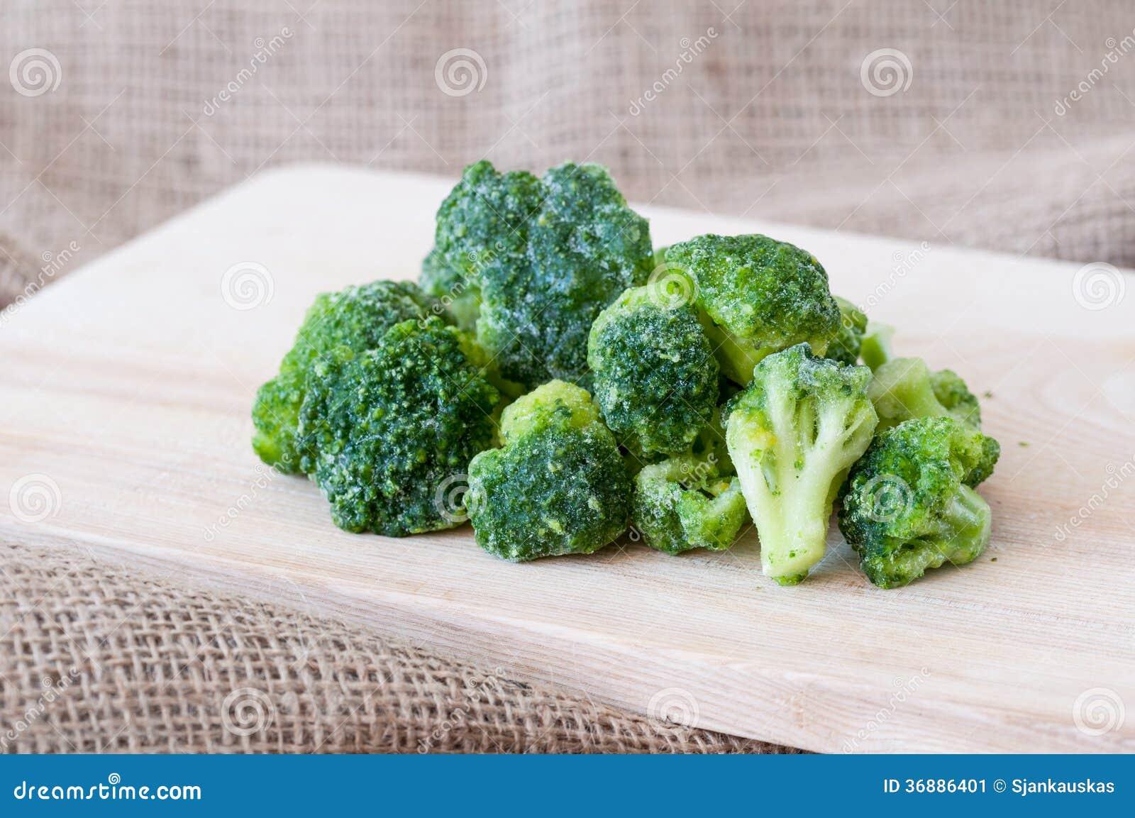 Download Broccoli congelati immagine stock. Immagine di grezzo - 36886401