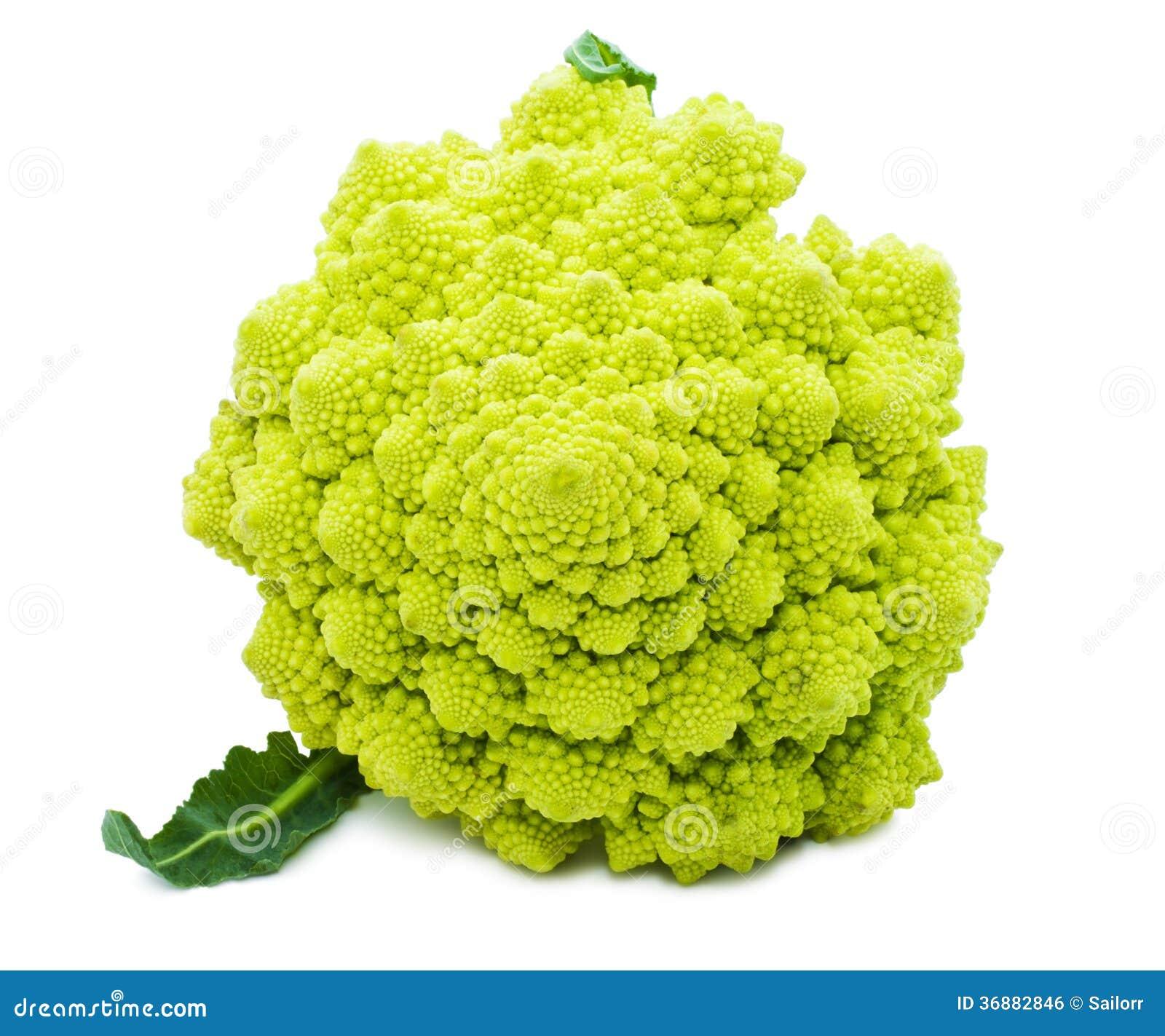 Download Broccoli di Romanesco fotografia stock. Immagine di verde - 36882846