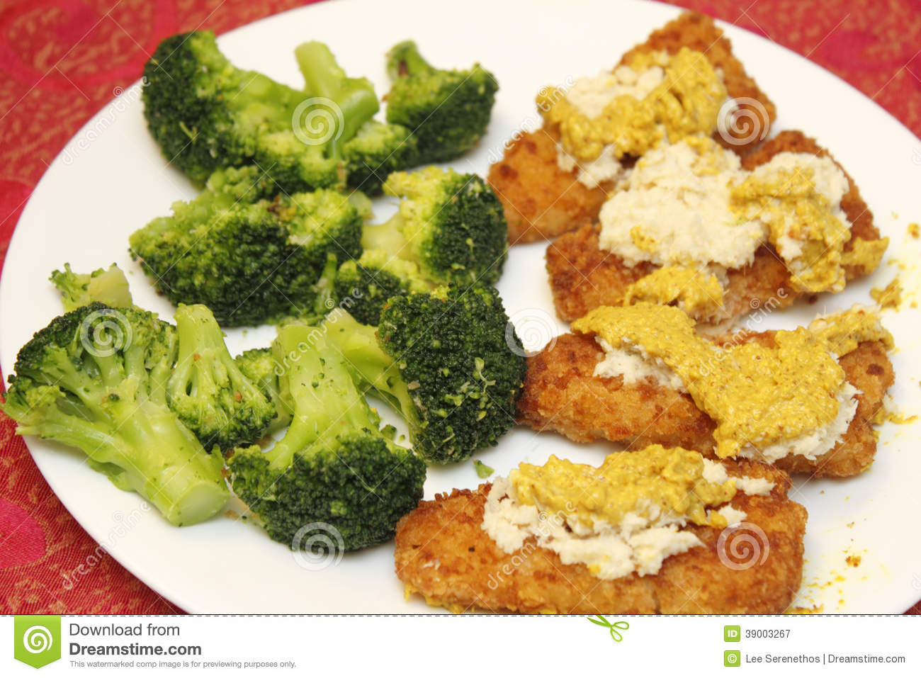 Broccoli and fish fillets stock photo image 39003267 for Fish and broccoli diet