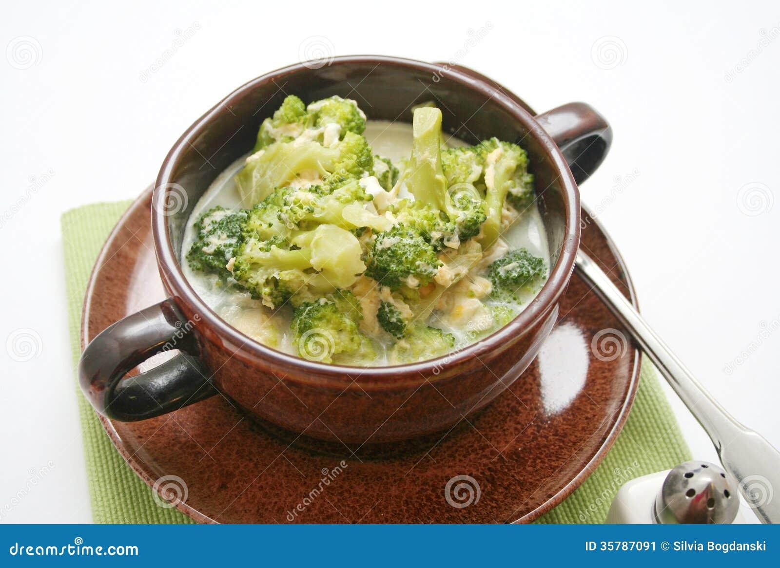 Broccolisoppa