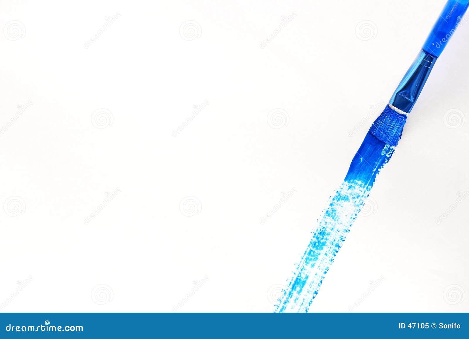 Brocha azul