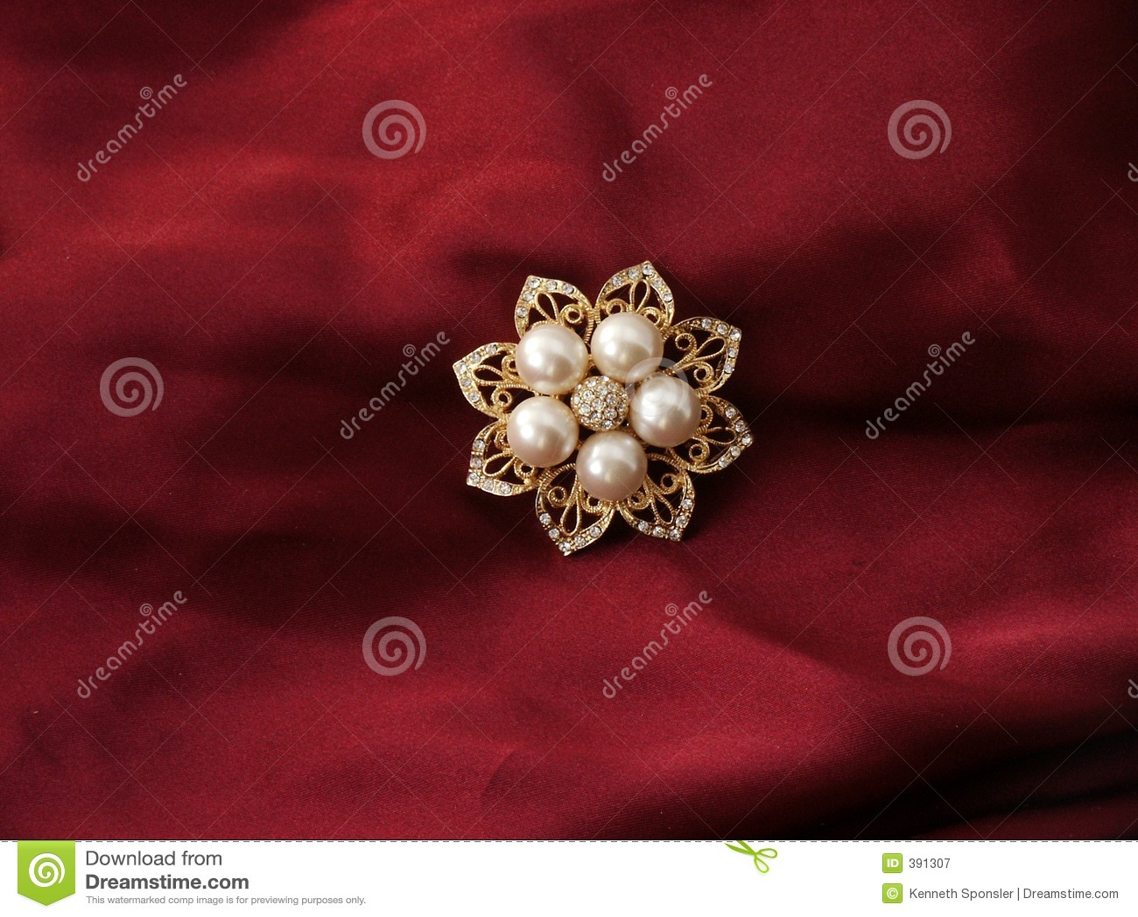 Broche de perle