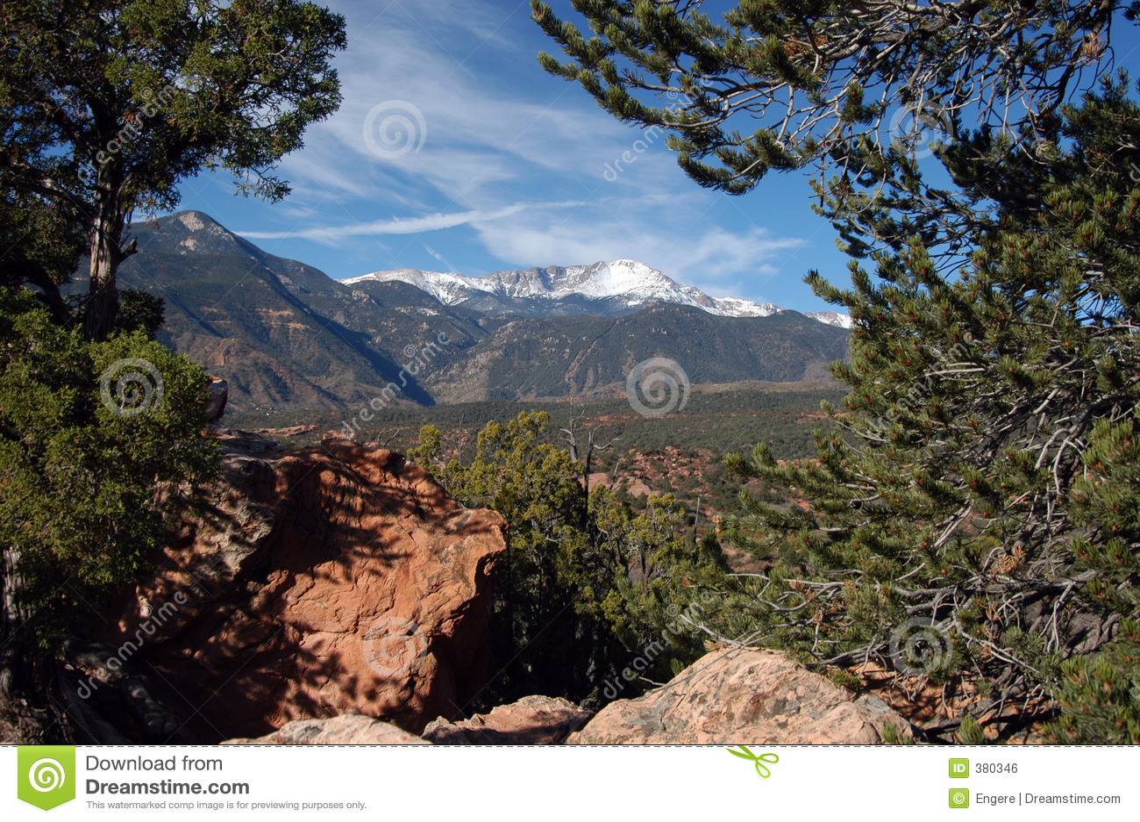 Brochets le Colorado maximal