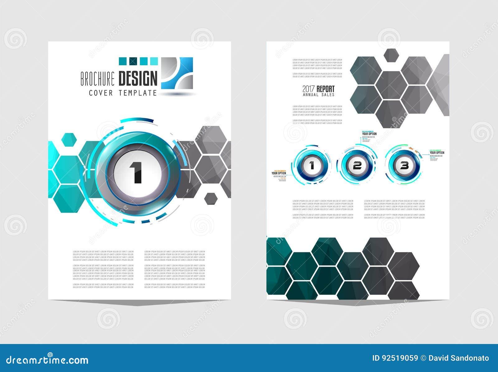 brochur templat brochure flyer template design business