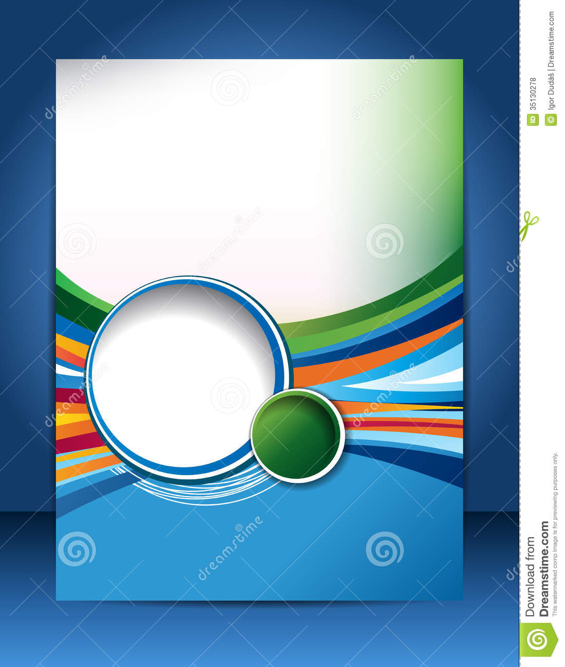 brochure design stock illustration illustration of banner 35130278