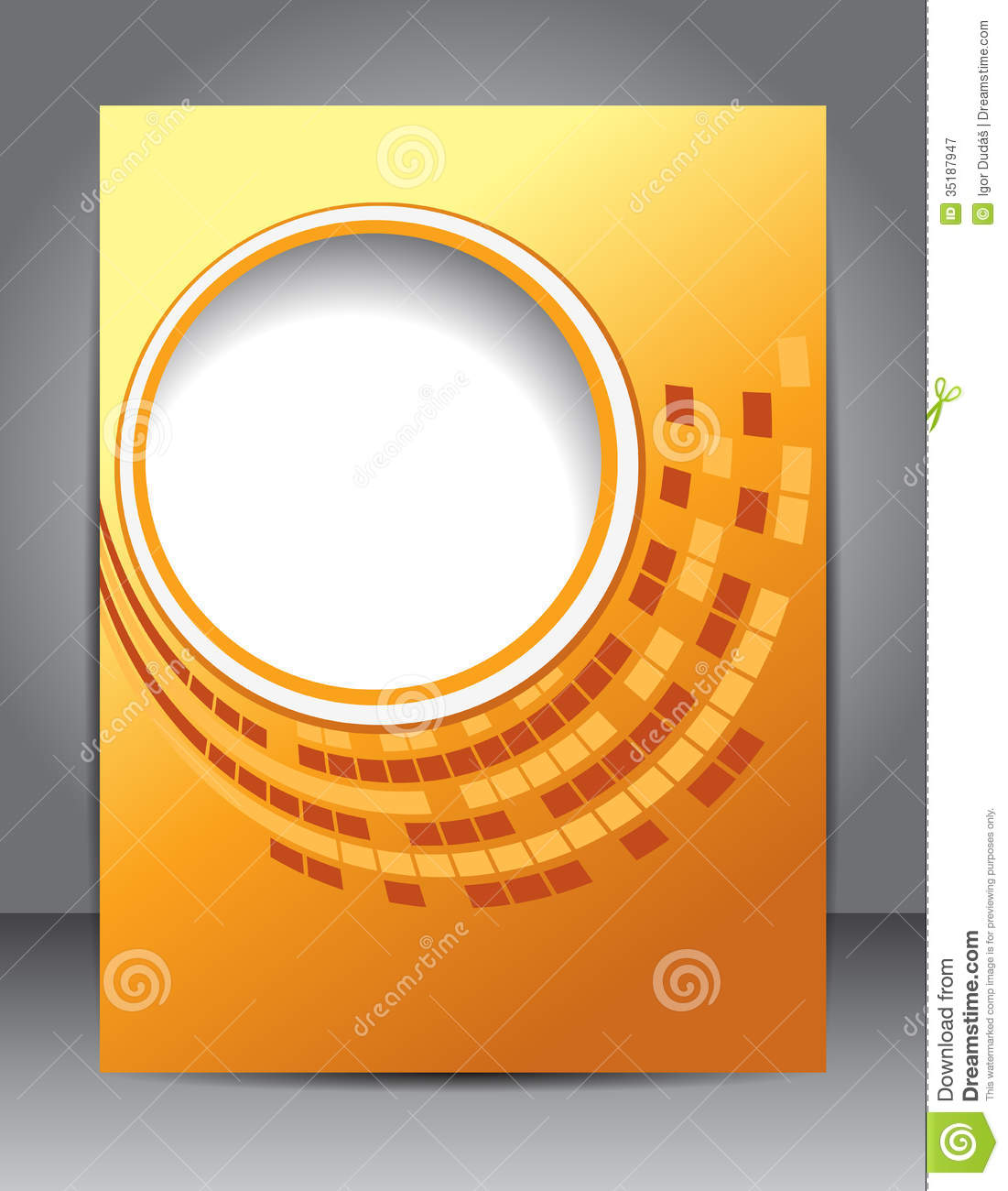 Brochure design stock illustration image of layout for Background brochure templates