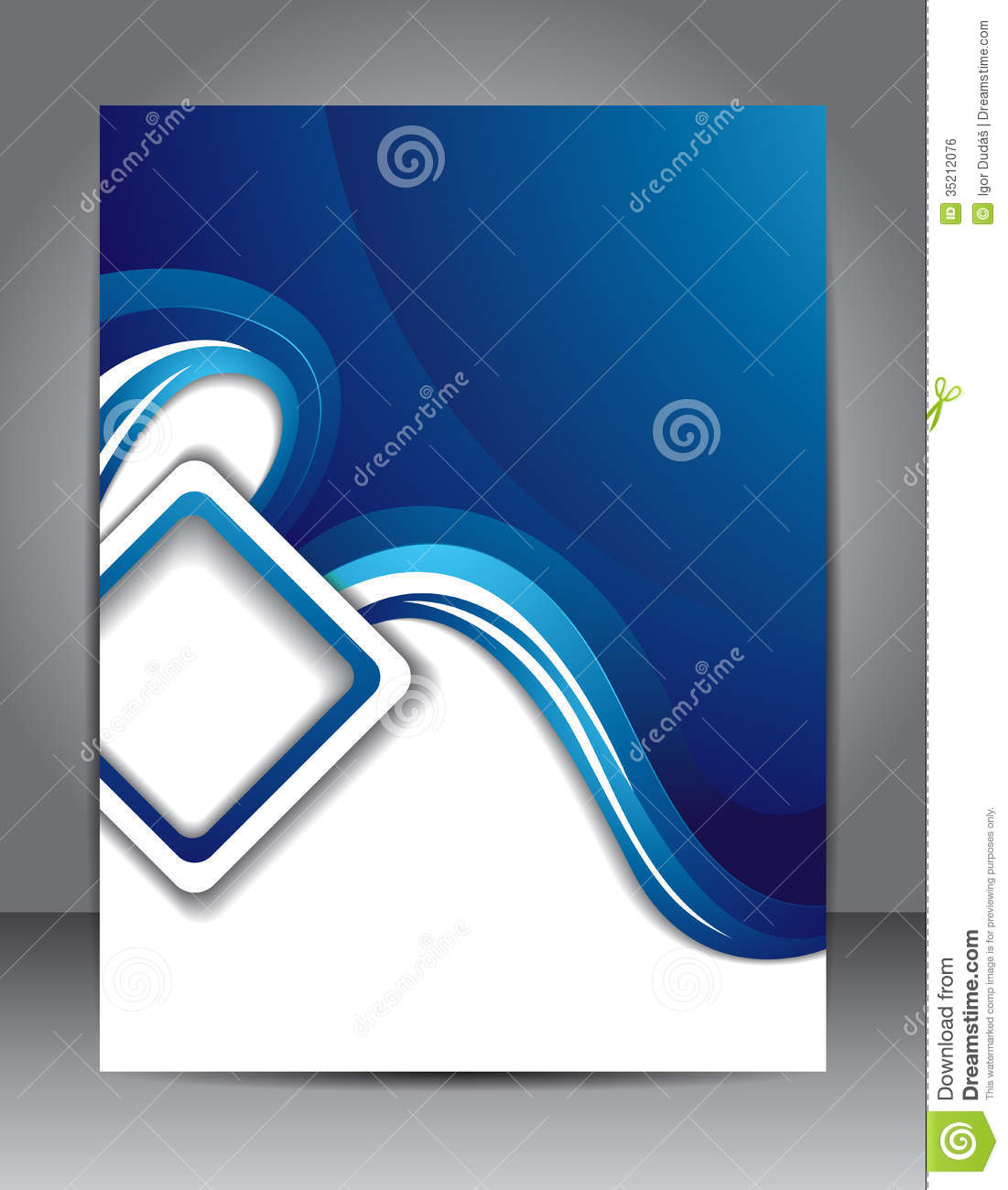 Brochure Design Royalty Free Stock Image Image 35212076