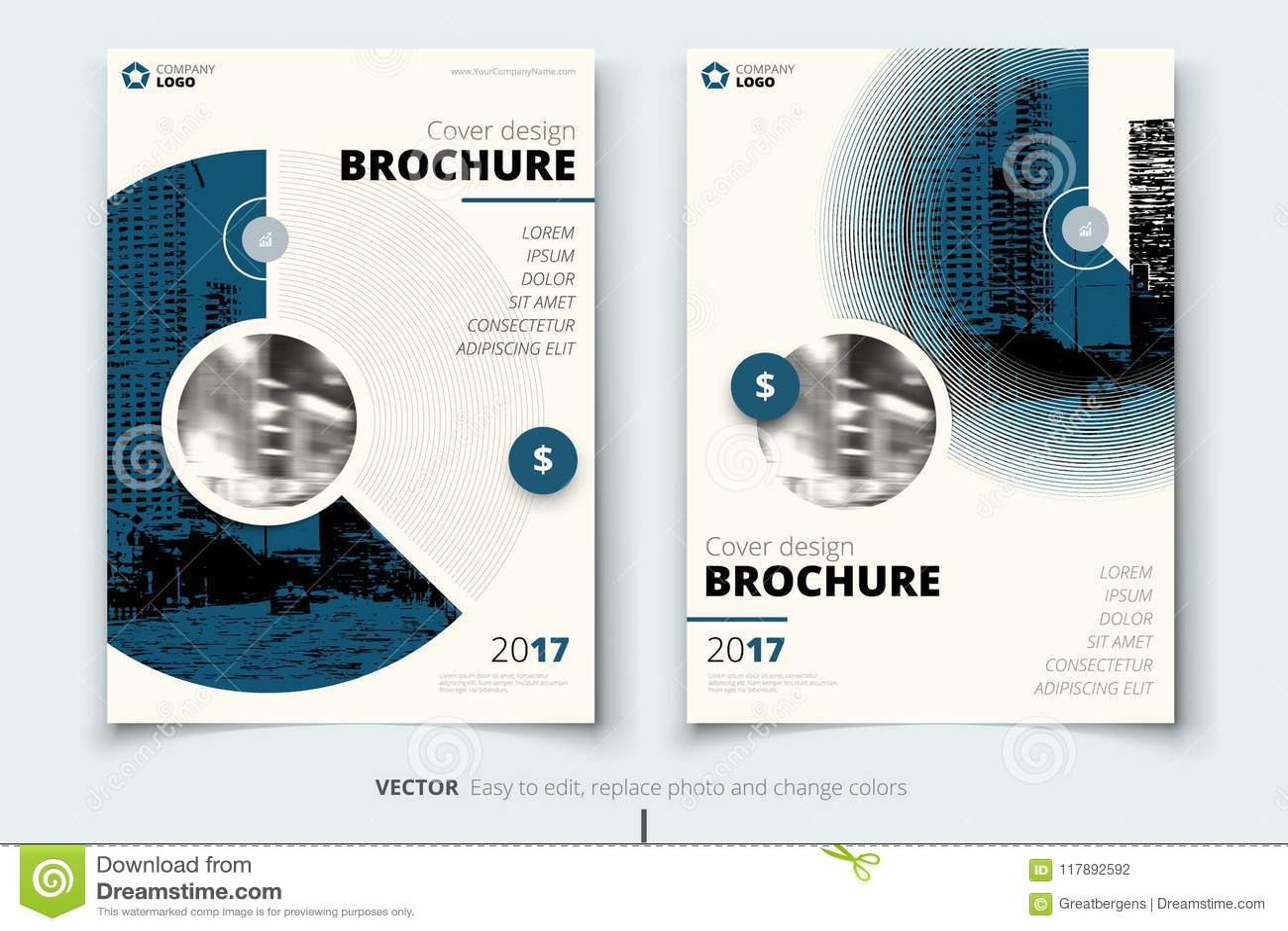 brochure design corporate business report cover brochure or flyer
