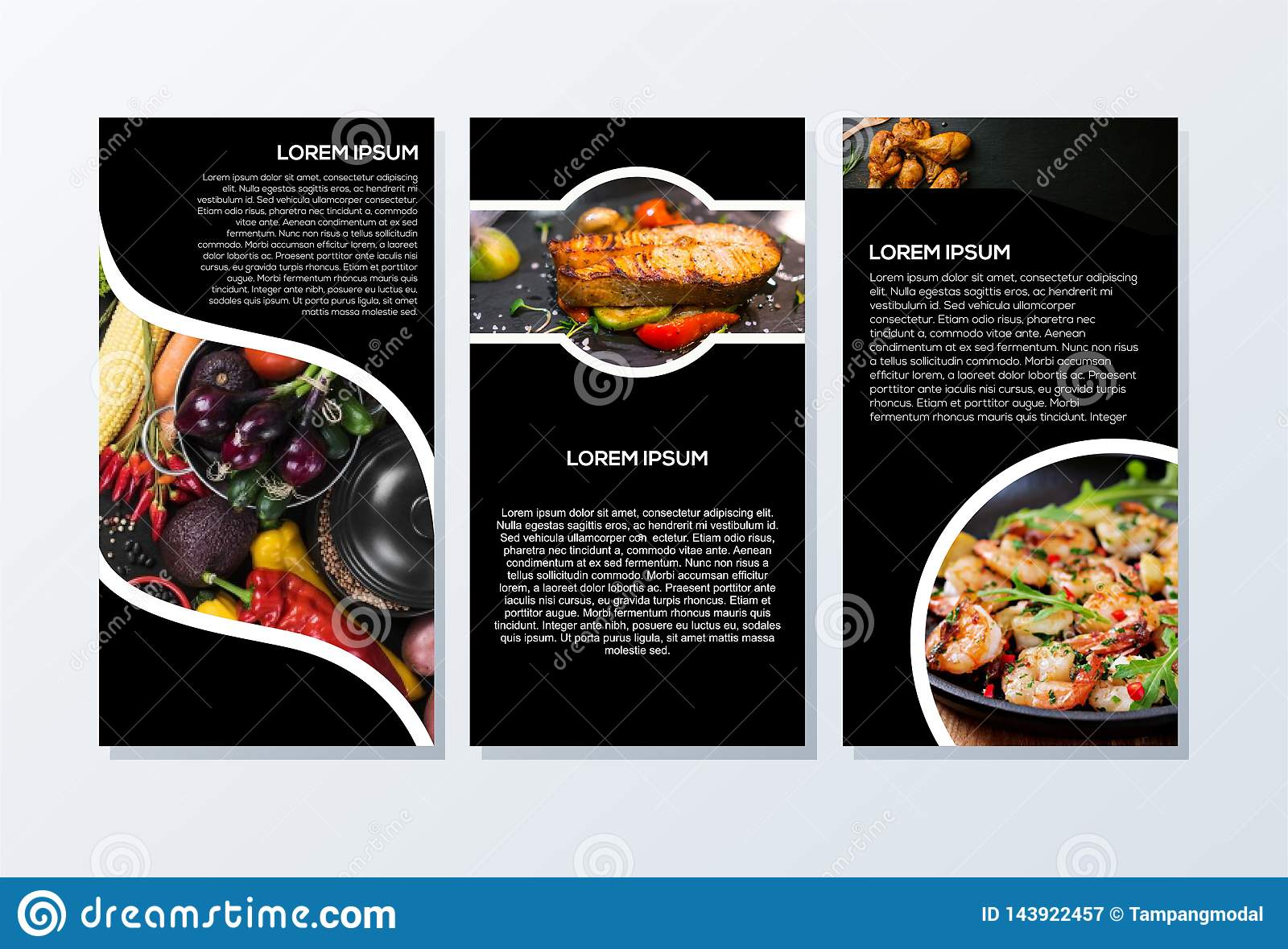 Brochure design ready to use