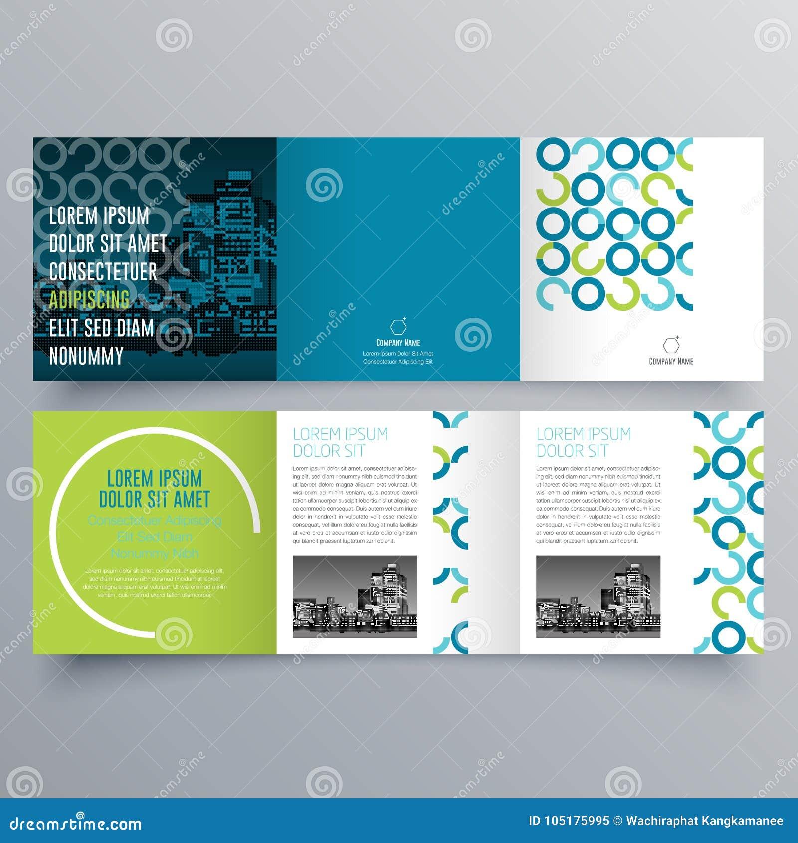 brochure design brochure template stock vector illustration of