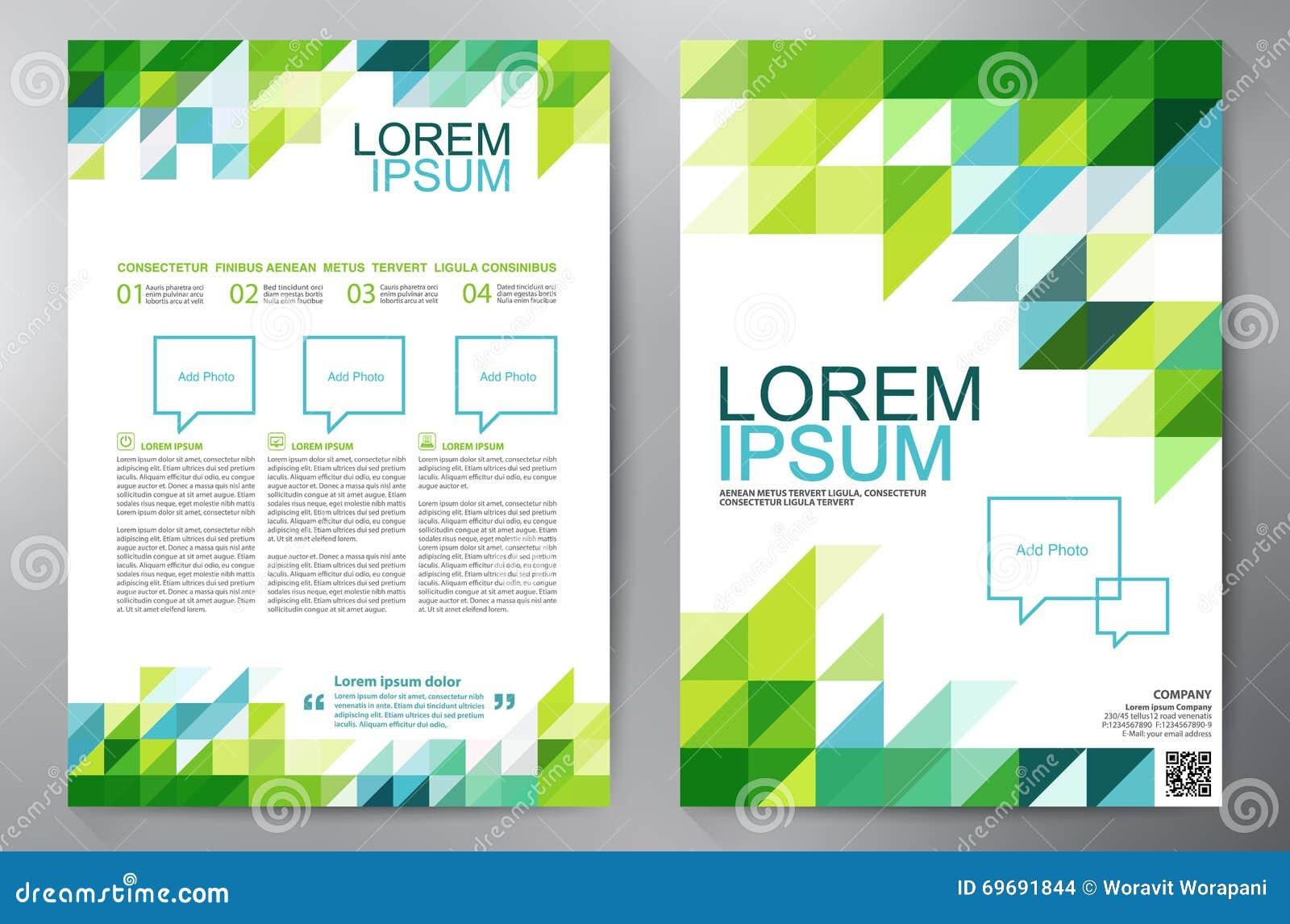 Brochure Design A4 Template  Stock Vector - Illustration of