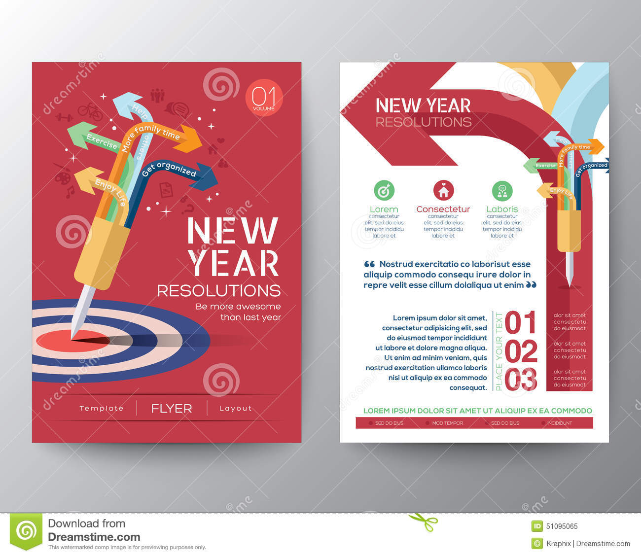 Book Cover Design In Coreldraw Tutorial : Brochure flyer design layout vector template iwith new