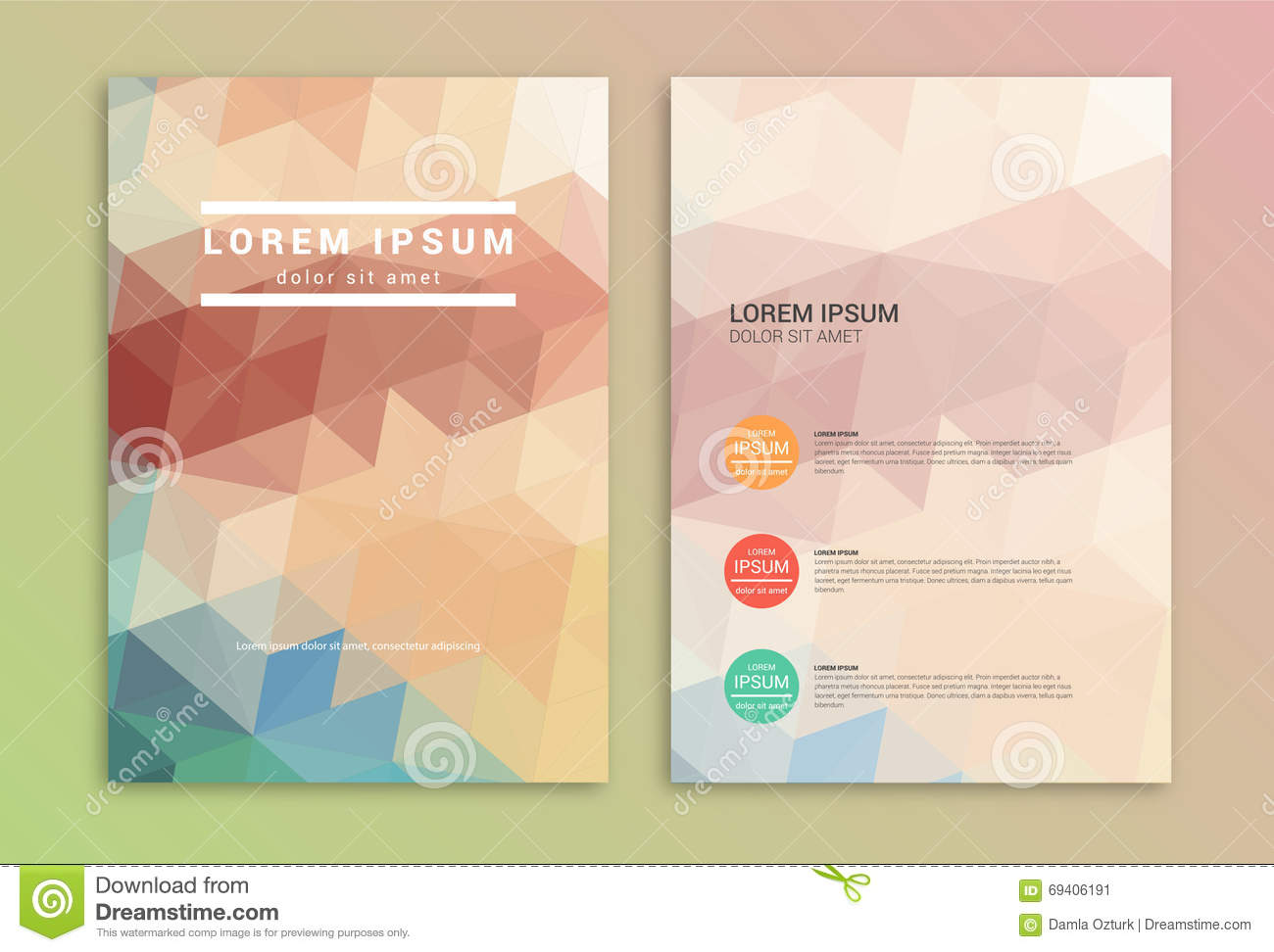 Templates for professional poster