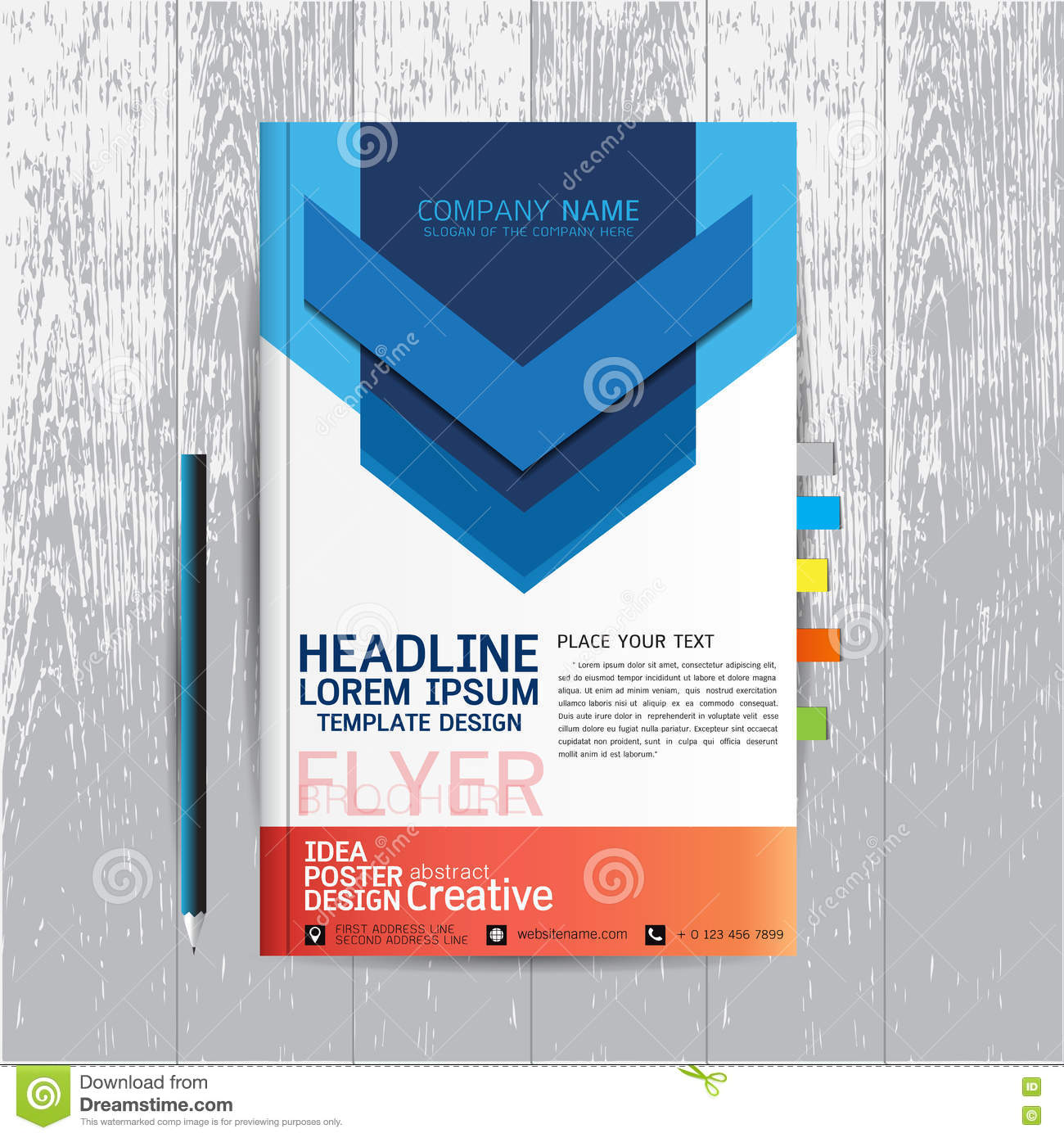 brochure flyers poster design layout template in a size brochure flyers poster design layout template in a4 size