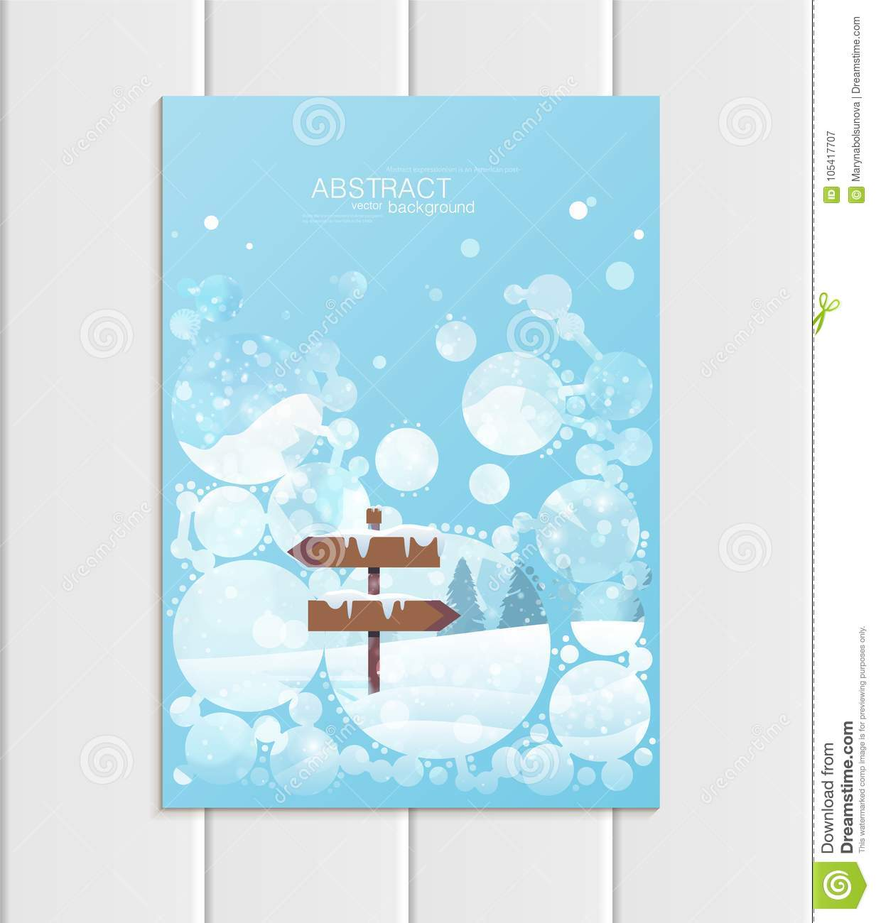 a5 landscape brochure template - brochure a5 or a4 format design christmas template