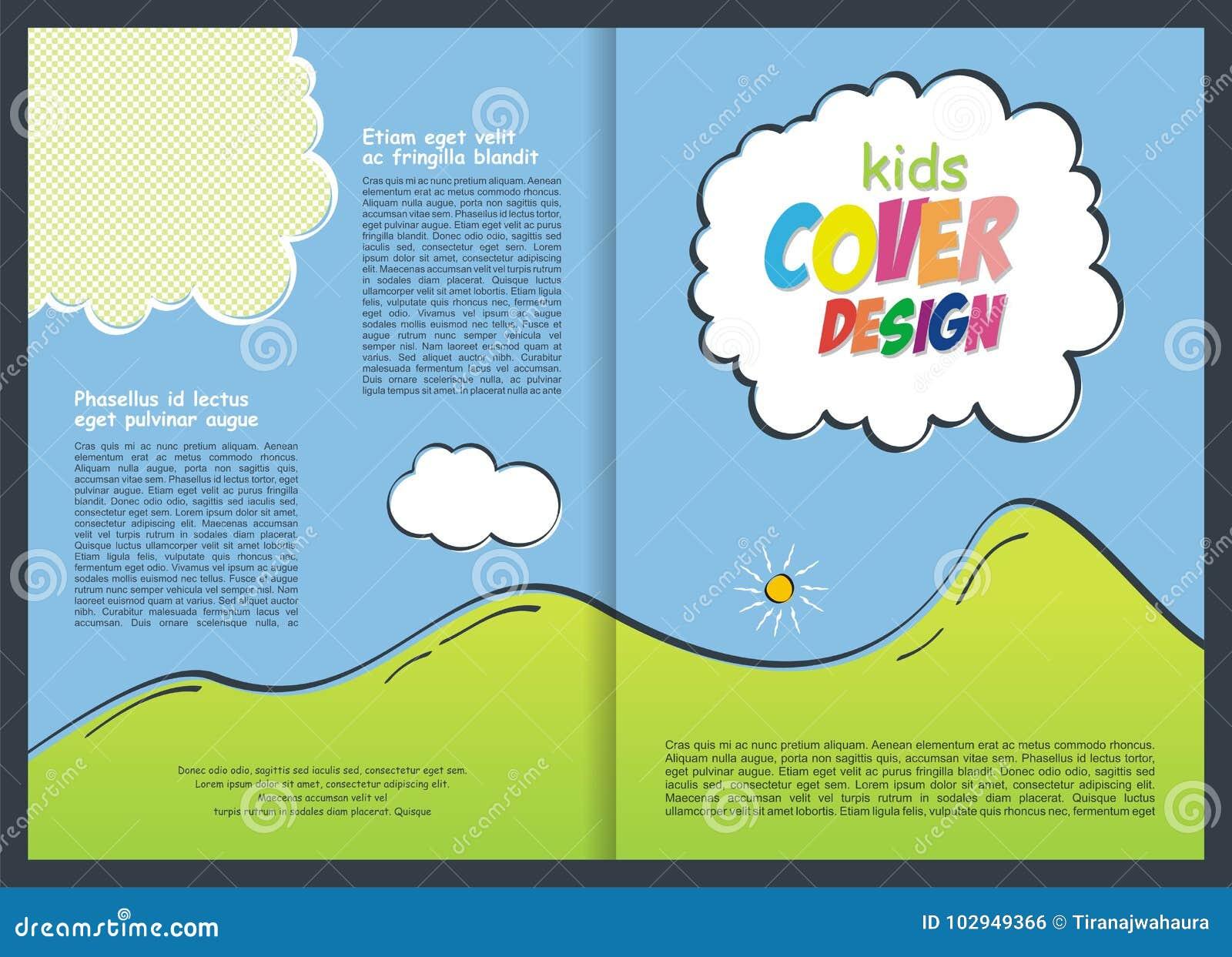 Brochure - het Ontwerp van het Vliegermalplaatje voor jong geitje