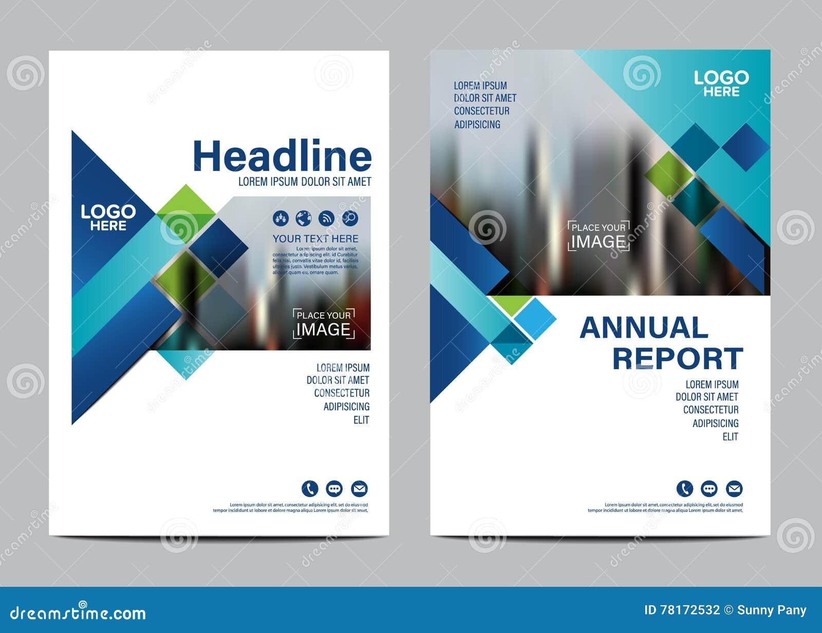 Brochure Layout design template. Annual Report Flyer Leaflet cover Presentation Modern background. illustration vector in A4