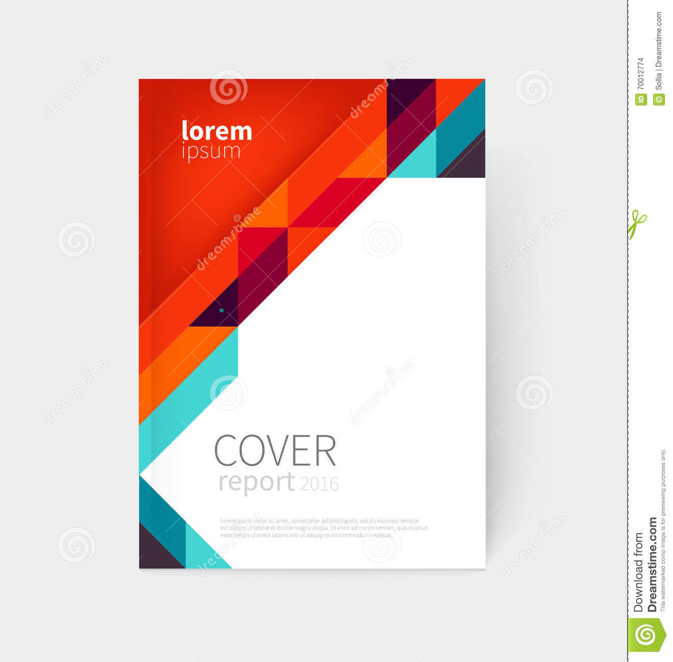 Book Cover Design Eps : Brochure leaflet flyer poster template cover design
