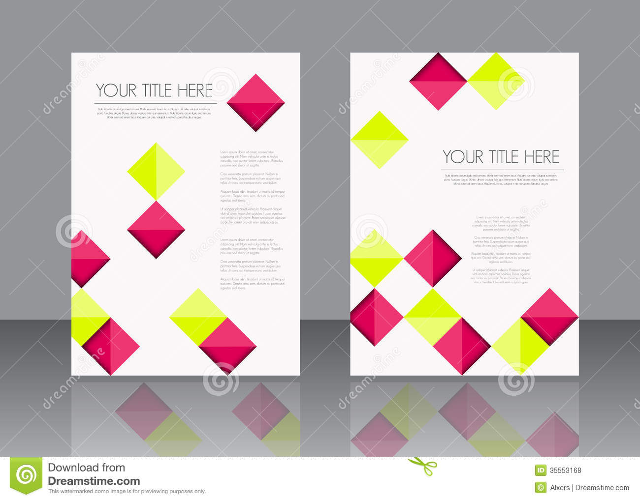 brochure template design free